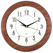 """Wood Time 12"""" Wall Clock (Set of 6)"""