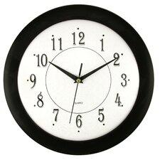 """Ebony Time 12"""" Wall Clock (Set of 6)"""