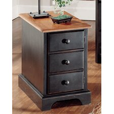Market Square Chairside Cabinet Table