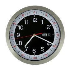 "10.1"" Stainless Steel Round Wall Hanging Clock"