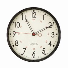 "11.9"" Round Large Numbers and Large Hands Wall Hanging School Clock"