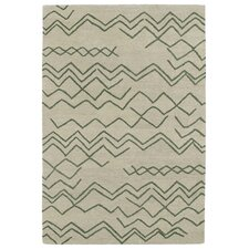 Casablanca Emerald Geomatric Indoor/Outdoor Rug