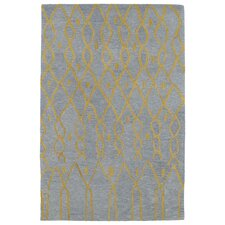 Casablanca Blue Geomatric Indoor/Outdoor Rug