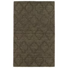 Imprints Modern Chocolate Geometric Rug