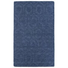 Imprints Modern Blue Geometric Rug