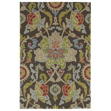 Home and Porch Chocolate Indoor/Outdoor Rug