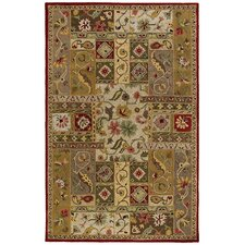 <strong>Kaleen Rug Co.</strong> Khazana Lagrange Red Floral Rug