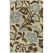Calais Lily In The Valley Linen Rug