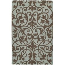 Carriage Trellis Spa Rug
