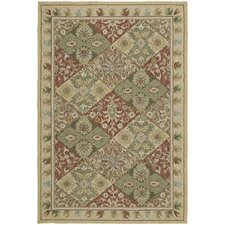 Home and Porch Floral Indoor/Outdoor Rug