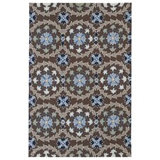 Home and Porch Blue Indoor/Outdoor Rug