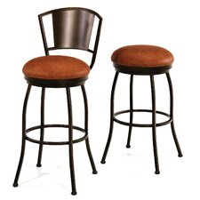 "Brazilia 30"" Swivel Bar Stool with Cushion"