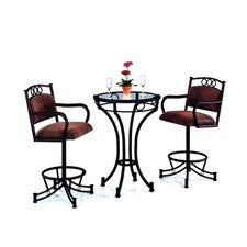 Winslow 3 Piece Pub Table Set