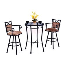 Winston 3 Piece Counter Height Pub Table Set