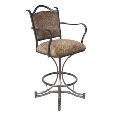 "<strong>Tempo</strong> Cambridge 26"" Swivel Bar Stool with Cushion"