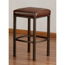 "Hallmark 26"" Stationary Bar Stool with Cushion"
