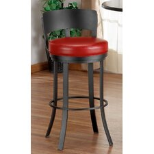 "Birkin 26"" Swivel Bar Stool with Cushion"