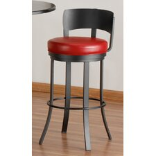 "Birkin 34"" Swivel Bar Stool with Cushion"