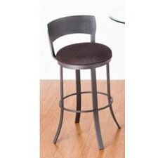 "Birkin 30"" Swivel Bar Stool with Cushion"