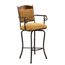 "Madera 26"" Bar Stool with Cushion"