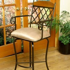 "Madrid 26"" Counter Stool w/ Arms"