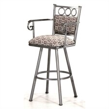 "Winston 34"" Bar Stool with Cushion"