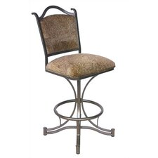 "<strong>Tempo</strong> Cambridge 30"" Swivel Bar Stool with Cushion"