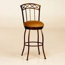 <strong>Tempo</strong> Porterville Swivel Bar Stool - Espresso Finish