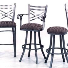 "New Rochelle 34"" Stool w/ Arms"