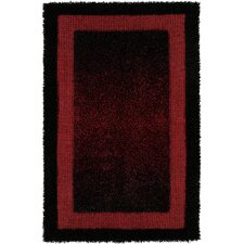 Rope Shaggy Red Rug