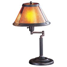 "18"" H Swing Arm Table Lamp"