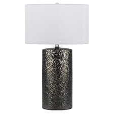 "Brava 3 Way 28.5"" H Table Lamp with Drum Shade"