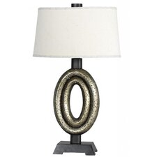 "Sparkling 27"" H Table Lamp with Empire Shade"