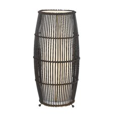 <strong>Cal Lighting</strong> Rattan Table Lamp