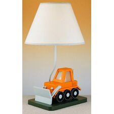 Juvenile Bulldozer Table Lamp with Night Light