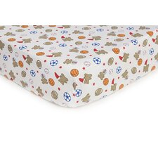 Basics Bear Sports Fitted Sheet
