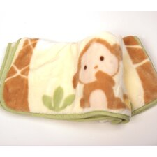 Basics Monkey High Pile Blanket