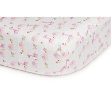 Basics Jungle Fitted Sheet