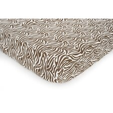Basics Zebra Fitted Sheet