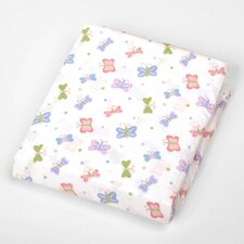 Basics Butterfly Fitted Sheet