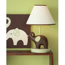 <strong>Carter's®</strong> Green Elephant Table Lamp