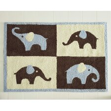<strong>Carter's®</strong> Blue Elephant Kids Rug