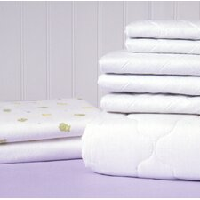 2 Piece Basics Quilted Mattress Pad Set