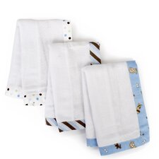 3 Piece Basics Puppy Burp Cloth Set