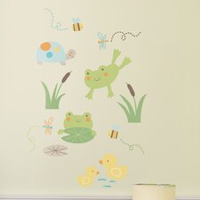In the Pond Wall Decal