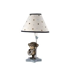 Monkey Lamp and Shade