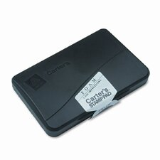 Foam Stamp Pad, 4.25w x 2.75d, Black