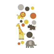 Sunny Safari Wall Decals