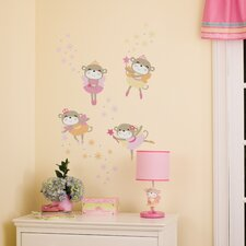 Fairy Monkey Star Wall Decal