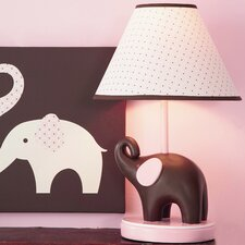 Pink Elephant Table Lamp
